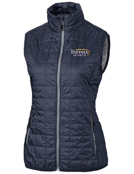 Picture of Ladies Rainier Full Zip Vest